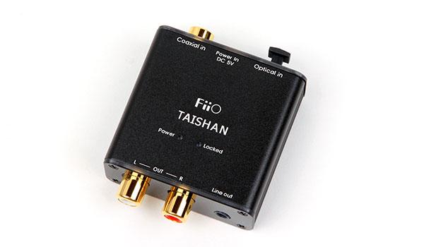 "FiiO D03K ""Taishan"" DAC come suona"
